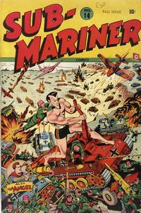 Cover Thumbnail for Sub-Mariner Comics (Marvel, 1941 series) #14
