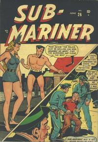Cover Thumbnail for Sub-Mariner Comics (Marvel, 1941 series) #26