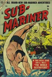 Cover Thumbnail for Sub-Mariner Comics (Marvel, 1954 series) #38
