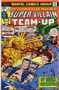 Cover Thumbnail for Super-Villain Team-Up (Marvel, 1975 series) #5