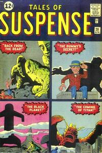 Cover Thumbnail for Tales of Suspense (Marvel, 1959 series) #28