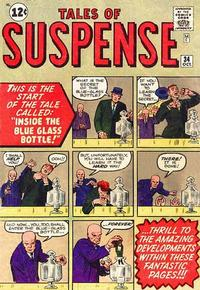 Cover Thumbnail for Tales of Suspense (Marvel, 1959 series) #34