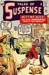 Cover Thumbnail for Tales of Suspense (Marvel, 1959 series) #36