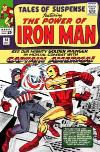 Cover Thumbnail for Tales of Suspense (Marvel, 1959 series) #58