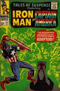Cover Thumbnail for Tales of Suspense (Marvel, 1959 series) #82