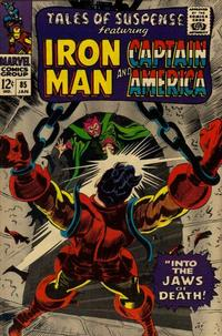 Cover Thumbnail for Tales of Suspense (Marvel, 1959 series) #85