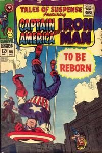 Cover Thumbnail for Tales of Suspense (Marvel, 1959 series) #96