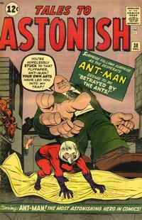 Cover Thumbnail for Tales to Astonish (Marvel, 1959 series) #38