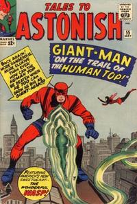 Cover Thumbnail for Tales to Astonish (Marvel, 1959 series) #55
