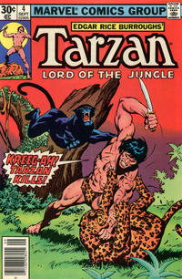 Cover for Tarzan (1977 series) #4 [35 cent cover price variant]