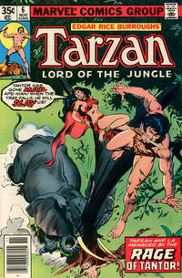 Cover Thumbnail for Tarzan (Marvel, 1977 series) #6