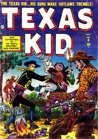 Cover Thumbnail for Texas Kid (Marvel, 1951 series) #8