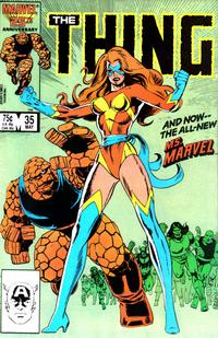 Cover Thumbnail for The Thing (Marvel, 1983 series) #35 [Direct Edition]