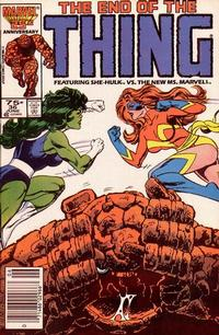 Cover Thumbnail for The Thing (Marvel, 1983 series) #36