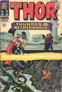 Cover Thumbnail for Thor (Marvel, 1966 series) #130