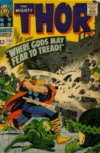 Cover Thumbnail for Thor (Marvel, 1966 series) #132