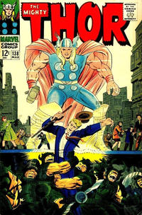 Cover Thumbnail for Thor (Marvel, 1966 series) #138