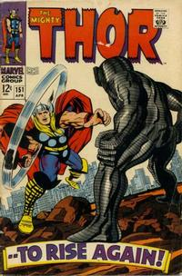 Cover Thumbnail for Thor (Marvel, 1966 series) #151