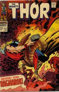 Cover Thumbnail for Thor (Marvel, 1966 series) #157