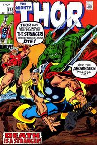 Cover Thumbnail for Thor (Marvel, 1966 series) #178 [Regular Edition]