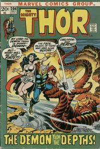 Cover Thumbnail for Thor (Marvel, 1966 series) #204 [Regular Edition]