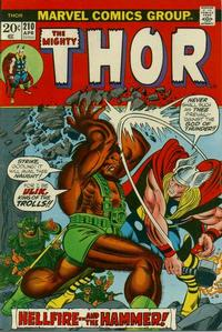 Cover Thumbnail for Thor (Marvel, 1966 series) #210