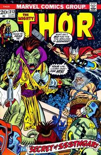 Cover Thumbnail for Thor (Marvel, 1966 series) #212 [Regular Edition]