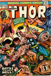 Cover Thumbnail for Thor (Marvel, 1966 series) #222