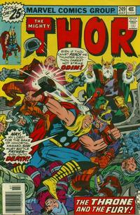 Cover Thumbnail for Thor (Marvel, 1966 series) #249 [Regular Edition]