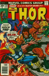 Cover Thumbnail for Thor (Marvel, 1966 series) #252 [Regular Edition]