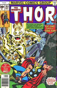 Cover Thumbnail for Thor (Marvel, 1966 series) #263 [30¢ Cover Price]