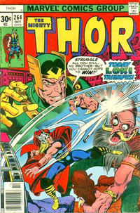 Cover Thumbnail for Thor (Marvel, 1966 series) #264 [30¢ Cover Price]