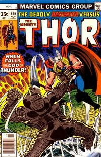 Cover Thumbnail for Thor (Marvel, 1966 series) #265 [Regular Edition]
