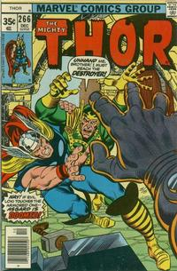 Cover Thumbnail for Thor (Marvel, 1966 series) #266 [Regular Edition]
