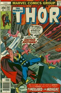 Cover Thumbnail for Thor (Marvel, 1966 series) #267