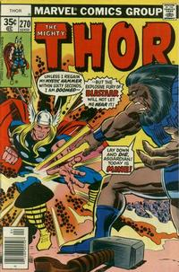Cover Thumbnail for Thor (Marvel, 1966 series) #270 [Regular Edition]