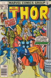 Cover Thumbnail for Thor (Marvel, 1966 series) #274