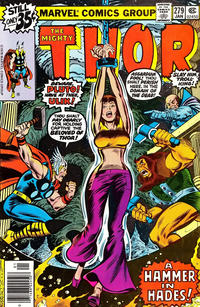 Cover Thumbnail for Thor (Marvel, 1966 series) #279 [newsstand]