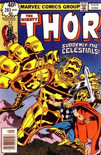 Cover Thumbnail for Thor (Marvel, 1966 series) #283 [Regular Edition]