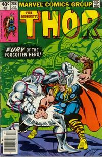 Cover Thumbnail for Thor (Marvel, 1966 series) #288