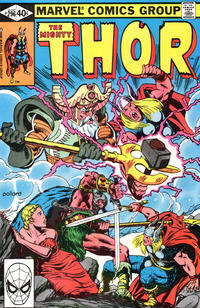 Cover Thumbnail for Thor (Marvel, 1966 series) #296 [Direct]
