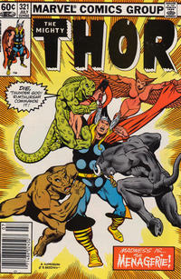 Cover Thumbnail for Thor (Marvel, 1966 series) #321