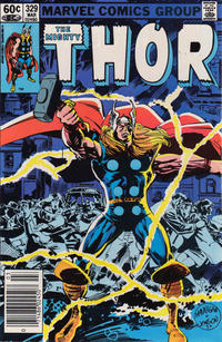 Cover Thumbnail for Thor (Marvel, 1966 series) #329