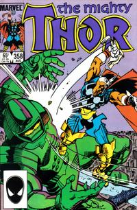 Cover Thumbnail for Thor (Marvel, 1966 series) #358