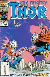 Cover Thumbnail for Thor (Marvel, 1966 series) #372