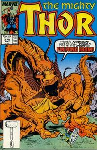 Cover Thumbnail for Thor (Marvel, 1966 series) #379 [Direct Edition]