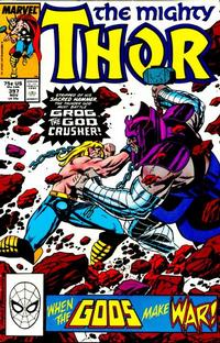 Cover Thumbnail for Thor (Marvel, 1966 series) #397 [Direct Edition]