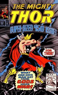Cover Thumbnail for Thor (Marvel, 1966 series) #450 [Direct Edition]