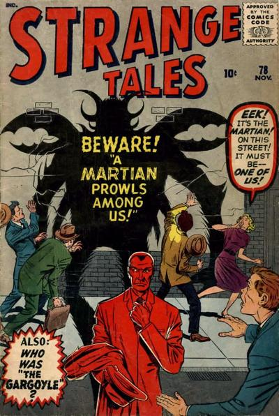 Cover for Strange Tales (1951 series) #78
