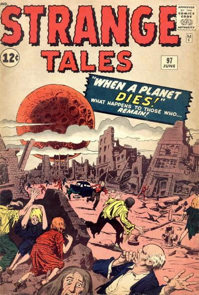 Cover for Strange Tales (Marvel, 1951 series) #97 [UK Edition]